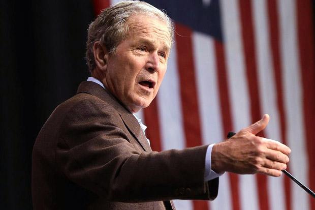 Eks Presiden AS George W Bush Serukan Keadilan untuk George Floyd