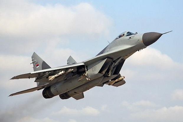 Rusia Kirim Jet-jet Tempur MiG-29 Canggih ke Suriah