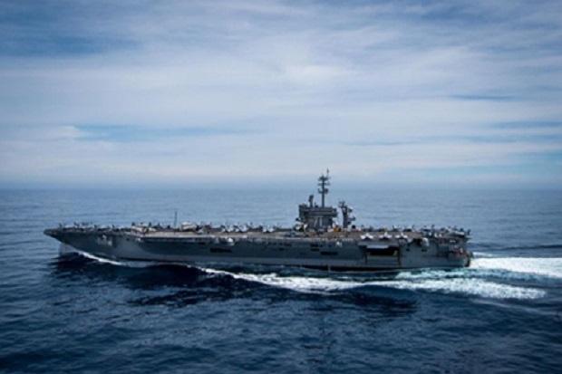 AS Kerahkan 3 Kapal Induk ke Indo-Pasifik, Warning bagi China