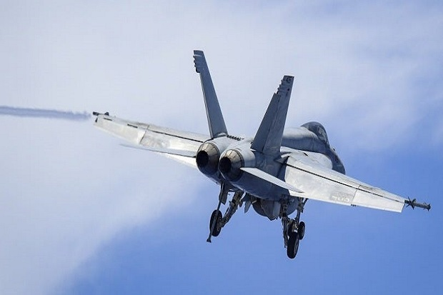 Jet Tempur F-18 AS Berbasis Kapal Induk Nuklir Jatuh di Laut Filipina