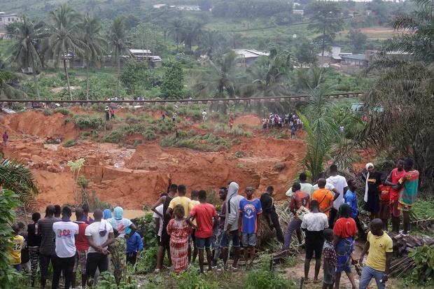 13 Orang Tewas dalam Tanah Longsor di Pantai Gading, Bisa Bertambah