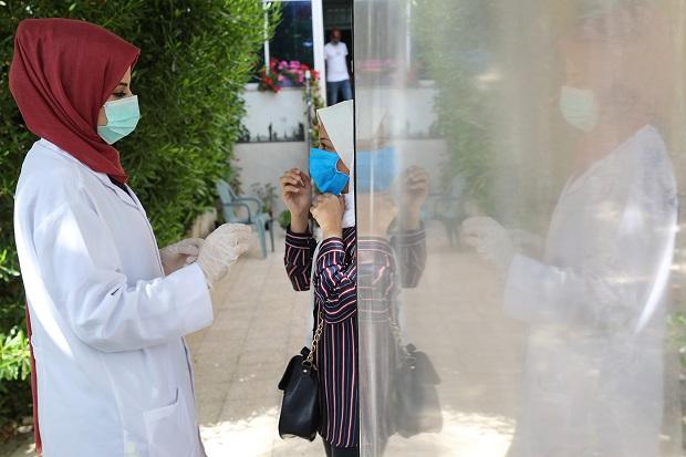 Jumlah Kasus Infeksi Covid-19 Meningkat, Palestina Tutup Dua Kota