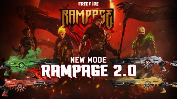 Free Fire Hadirkan Rampage 2.0 serta Bagikan Bundle dan Gun Skin Gratis