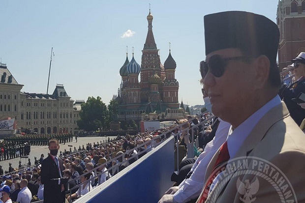 Wakili RI, Prabowo Jadi Tamu Kehormatan di Victory Day Rusia