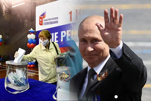 Rusia Gelar Referendum, Kepemimpinan Putin Diprediksi Kian Panjang