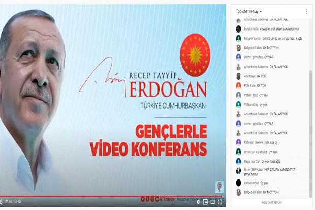 Tayangan YouTube Erdogan Diserbu Komentar Negatif dan Dislike