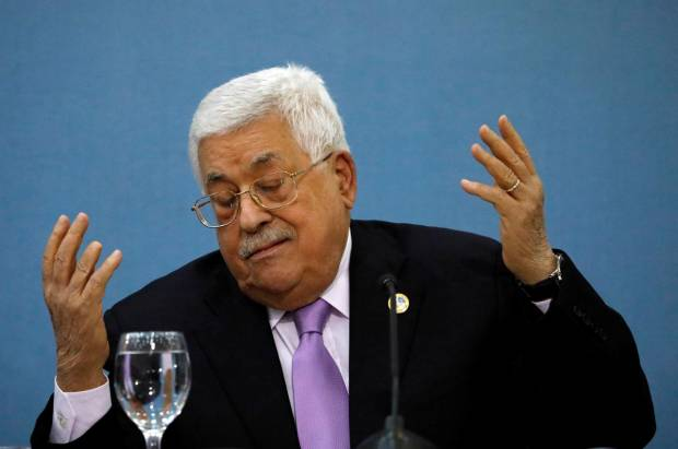 Presiden Palestina Abbas Menolak Terima Telepon dari Menlu AS
