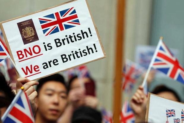 China Murka Inggris Tawarkan Kewarganegaraan pada Penduduk Hong Kong
