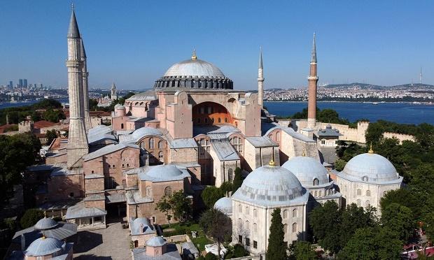AS Desak Turki Biarkan Hagia Sophia Tetap Jadi Museum