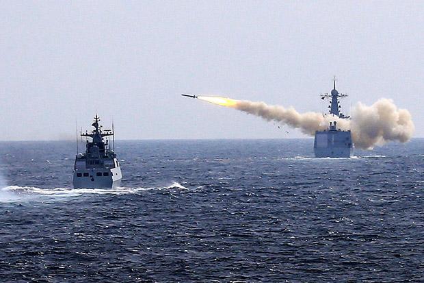 Pentagon Prihatin China Gelar Latihan Militer di LCS