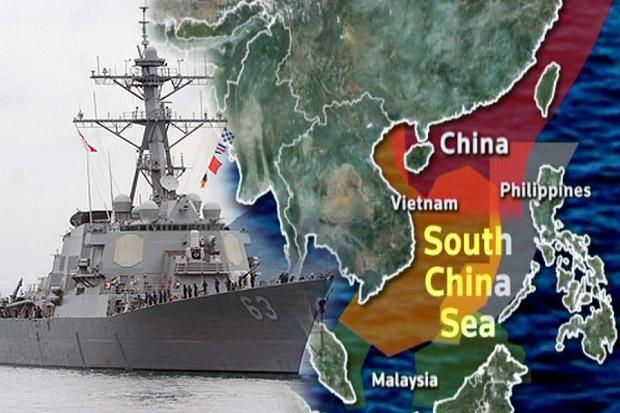 AS Kirim Dua Kapal Induk dan Kapal Perang ke LCS