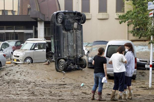 Banjir Jepang Tewaskan 20 Orang, Terbanyak di Panti Jompo