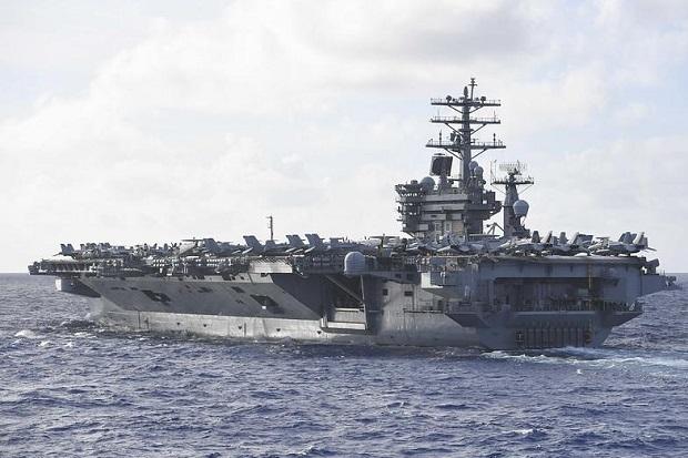 Media China Ledek 2 Kapal Induk AS di Laut China Selatan bak Macan Kertas