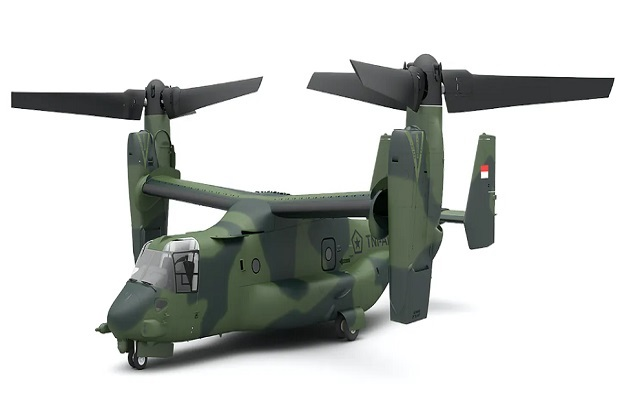 Media Amerika: China dan Natuna, Alasan Indonesia Beli Osprey V-22 AS