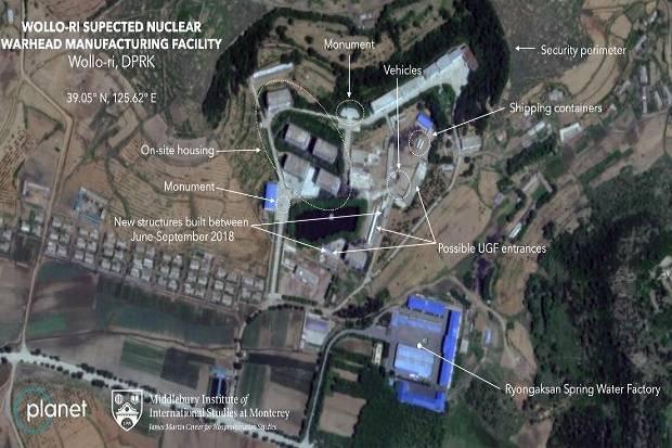 Ada Aktivitas Mencurigakan di Situs Korut, Diduga Membuat Senjata Nuklir