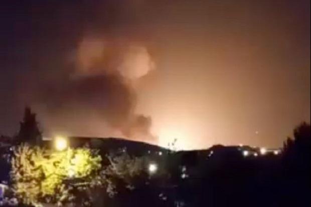 Iran Kembali Diguncang Ledakan, Diduga Hantam Gudang Rudal IRGC