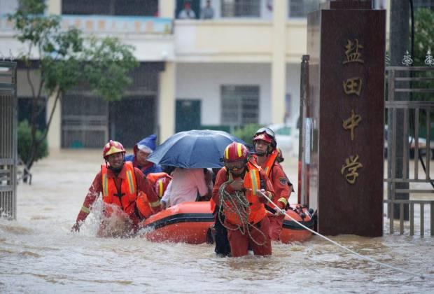 Jiangxi China Deklarasikan Waspada Banjir Terparah