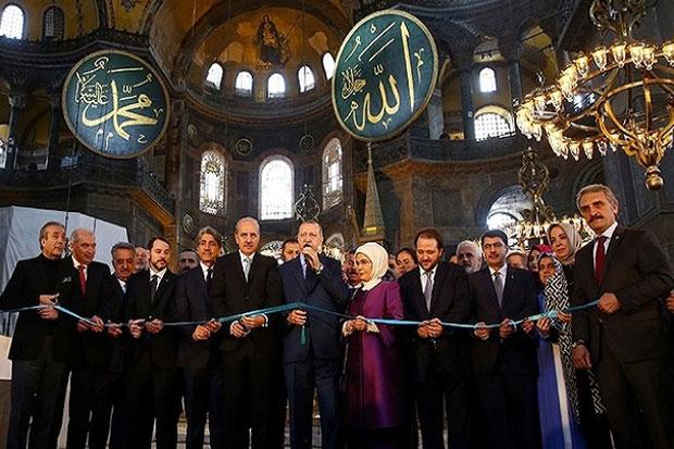 Erdogan Jadikan Hagia Sophia Masjid demi Popularitas Dinilai Tak Akan Berhasil