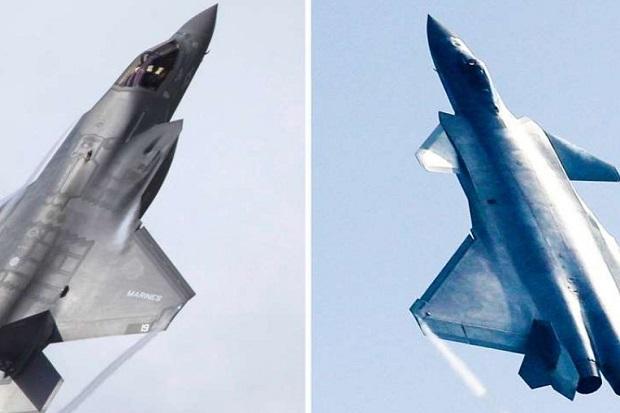 Kalah Jumlah, Mustahil Jet Tempur Siluman J-20 China Kalahkan F-35 AS