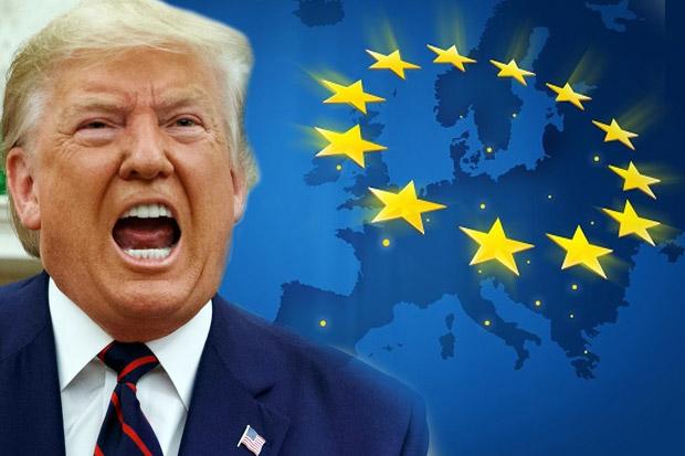 Trump: UE Dibentuk untuk Ambil Keuntungan dari AS
