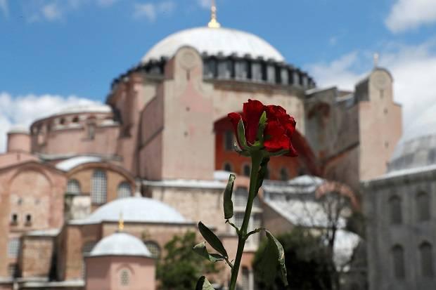 Negara dengan Islamofobia Tak Berhak Protes Perubahan Status Hagia Sophia