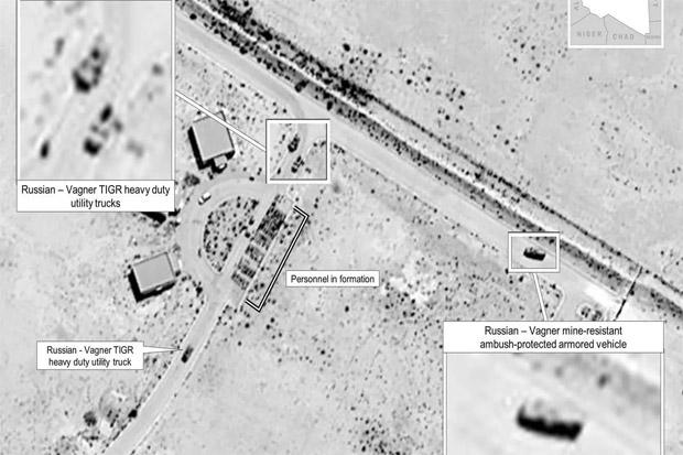 Foto Satelit pasokan senjata dari Rusia ke pemberontak Libya