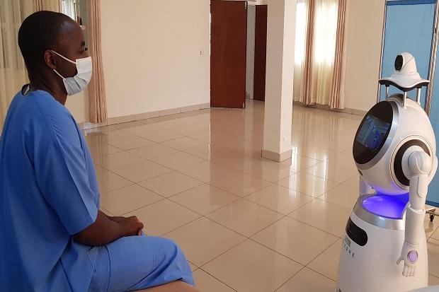 Robot Perawat dan Tes Skala Besar, Cara Rwanda Kalahkan Covid-19