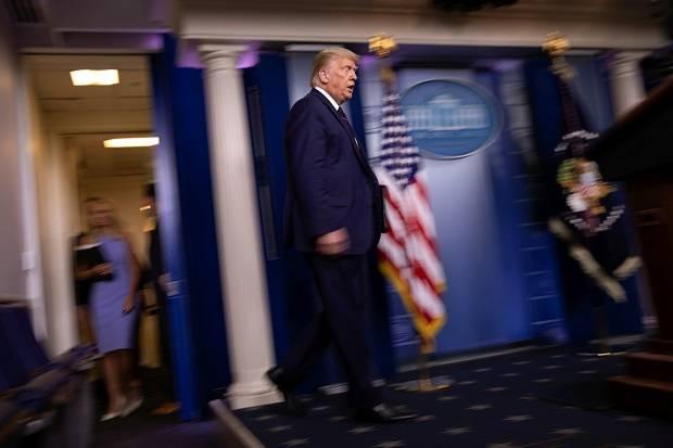 Trump Sarankan Pilpres AS Ditunda Karena Covid-19