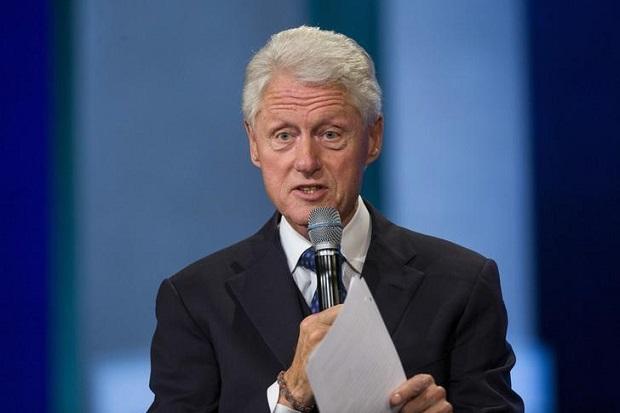 Bill Clinton Terseret Kasus Skandal Budak Seks Epstein