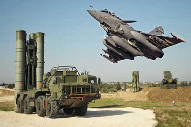Tujuan S-400 dan Jet Rafale India Hantam Jet Pakistan di Wilayahnya