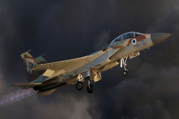 Israel Bombardir Damaskus, Sistem Rudal Suriah Beraksi