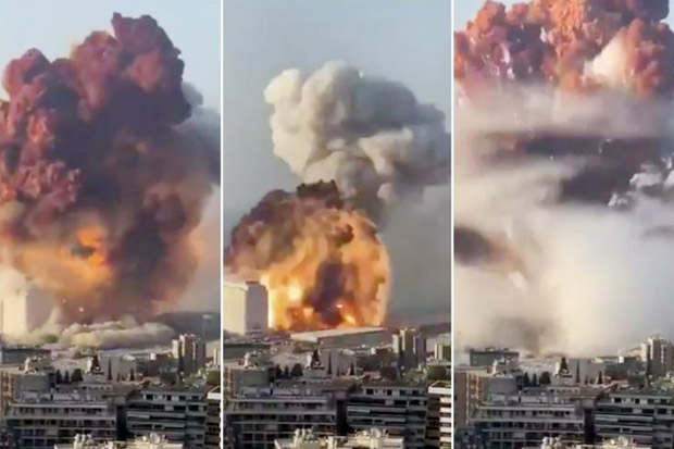 PM Lebanon Memohon Bantuan Internasional Pasca Ledakan Beirut