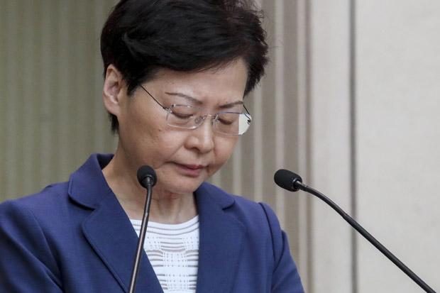 AS Sanksi Pemimpin Eksekutif Hong Kong Carrie Lam