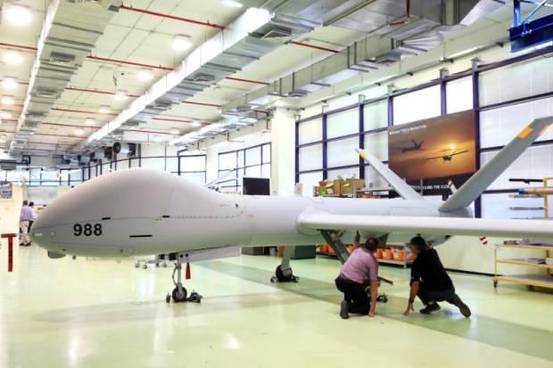 Militer Israel Tembak Jatuh Drone di Dataran Tinggi Golan