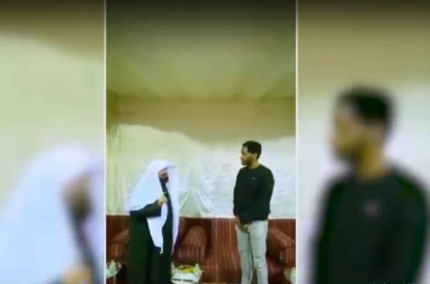 Mengharukan, Warga AS Masuk Islam Dibimbing Sheikh Al-Sudais