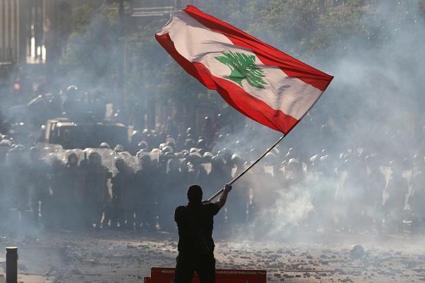 AS Nyatakan Dukung Demonstrasi Warga Lebanon