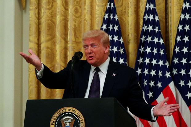 Beban Berat Trump pada Pemilu 2020