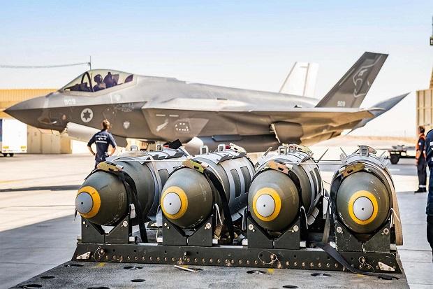 Israel Kian Kuat, Skuadron Kedua Jet Siluman F-35-nya Siap Tempur