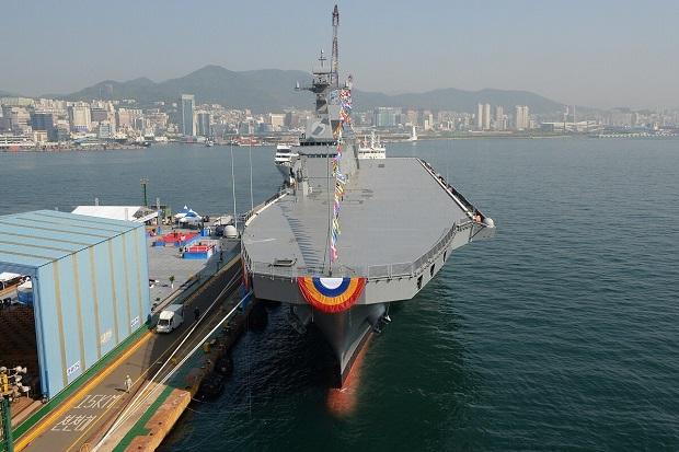 Perkuat Armada Laut, Korsel Bangun Kapal Induk