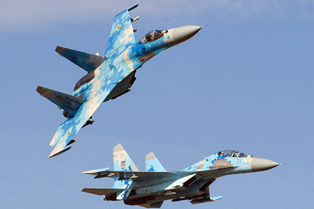 Insiden di Laut Hitam, Jet Tempur Su-27 Rusia Usir 2 Pesawat Militer AS