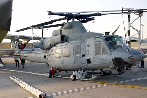 Helikopter Angkatan Udara AS Ditembak Saat Latihan, 1 Awak Terluka
