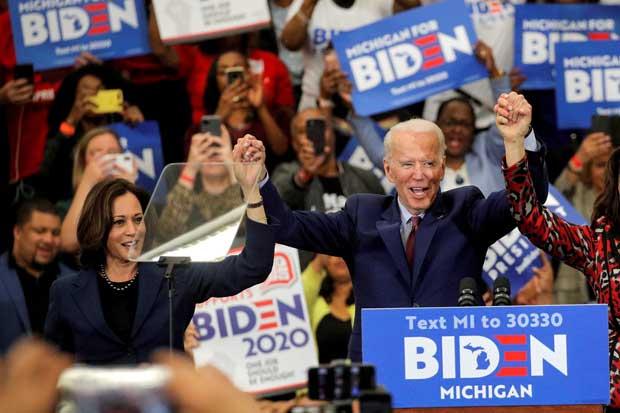 Joe Biden Sebut Kamala Harris Sebagai Pejuang Tanpa Rasa Takut