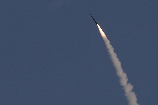 AS-Israel Uji Coba Sistem Pertahanan Rudal Balistik Arrow-2