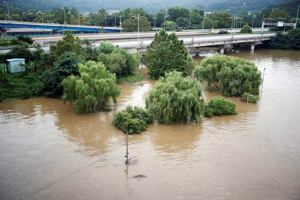 Banjir Rendam Korut, 22 Tewas dan Empat Hilang