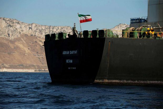 AS Dilaporkan Sita Empat Kapal Tanker Iran