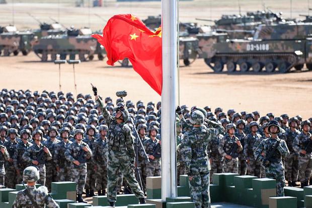 Militer AS Akui Intip Latihan Militer China di LCS