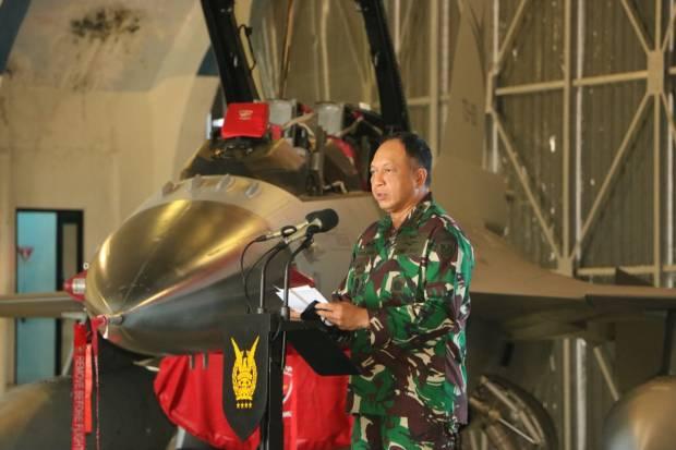 Hebat! Pesawat F-16 TNI AU Bisa Tembak 4 Target Sekaligus Tanpa Melihat