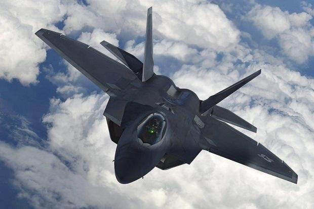 Jet Tempur Siluman F-22 AS Cegat Pesawat Militer Rusia di Dekat Alaska