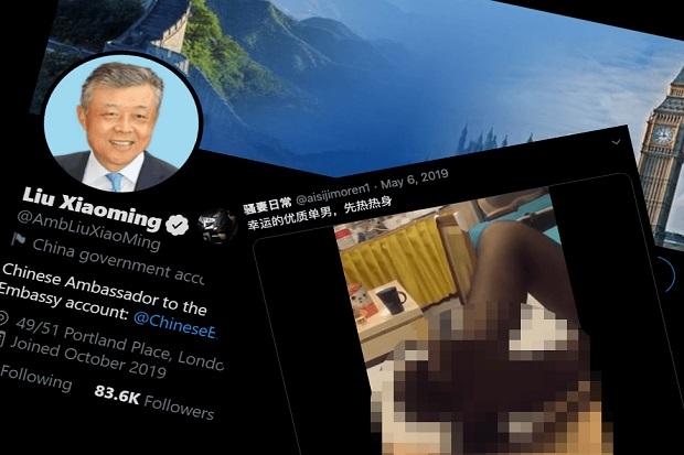 Bikin Heboh, Akun Twitter Dubes China Like Video Dewasa