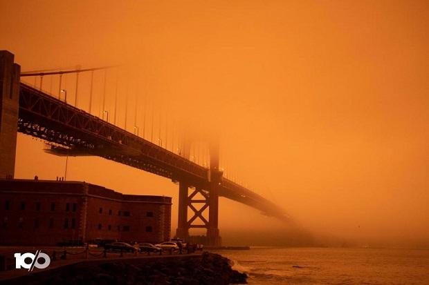 Kebakaran Mengerikan California Tewaskan 33 Orang, AS Keluarkan Bendera Merah